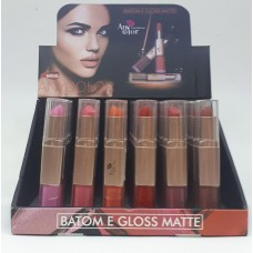 1807 BOX BATOM E GLOSS MATTE ANYCOLOR C/ 24