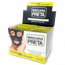 6270/SP17 MASCARA PRETA SACHE C/ 50
